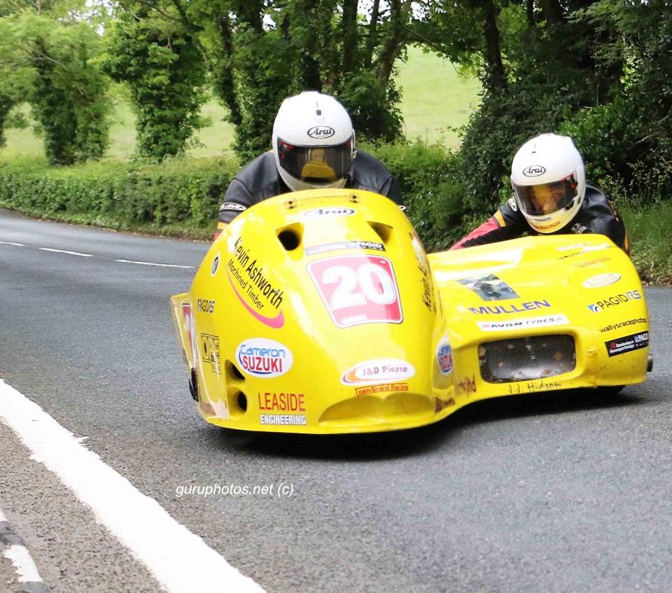 TT for webTT Isle of Man Gordan Shand Frank Claeys